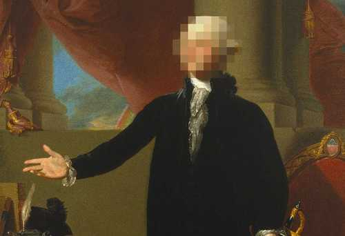 George Washington censored